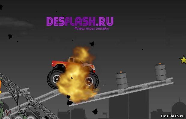 Уничтожить грузовик 2. Demolish Truck 2