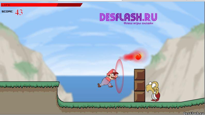 Mario: Combat Deluxe. Марио: Роскошный бой