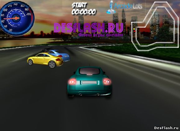 Гонки на ауди: Audi 3D Racing