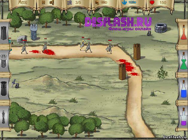 Защита башней от завоевания