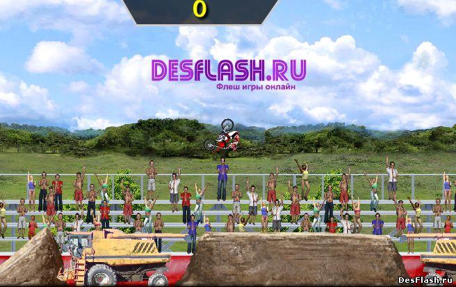 Играть в MotoX Classic 3