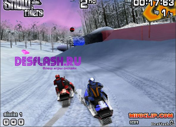 Snow Riders. Снежный гонщик