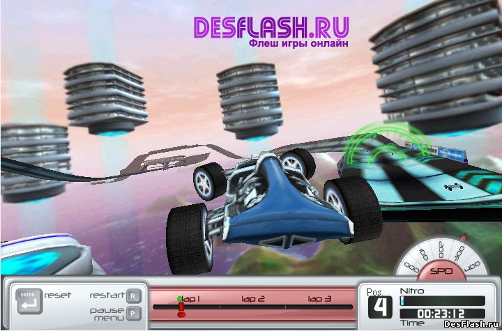 Дрифт гонки онлайн: Drift 'n' Burn 2 My Racer