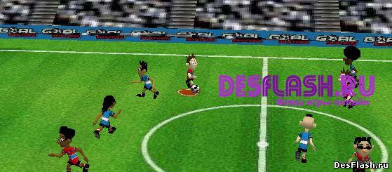3D футбол. Jetix 3D Soccer
