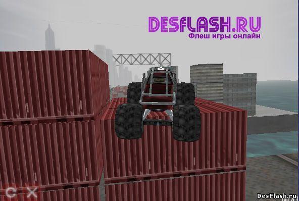Monster Truck Dare Devil. Отважный монстр-грузовик дьявола