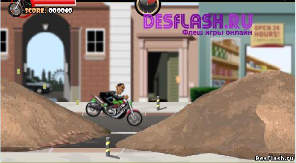 Обама-гонщик. Obama Rider