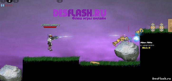 Играть Plazma Burst 2 онлайн