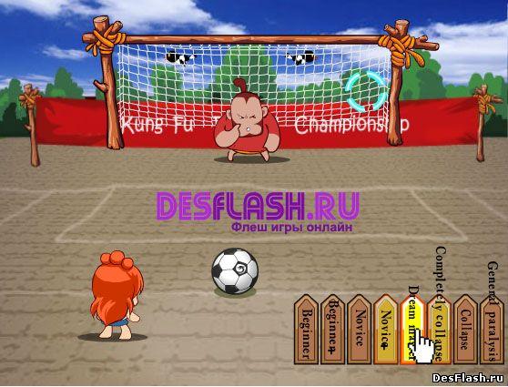 Забавный футбол играть