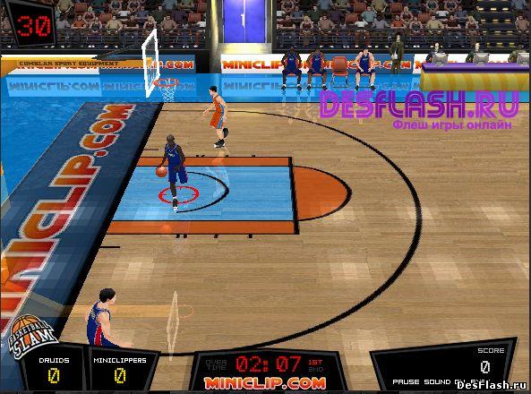 Шумный баскетбол. Slam Basketball