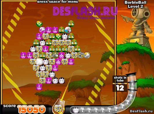 Bubble Town онлайн игра