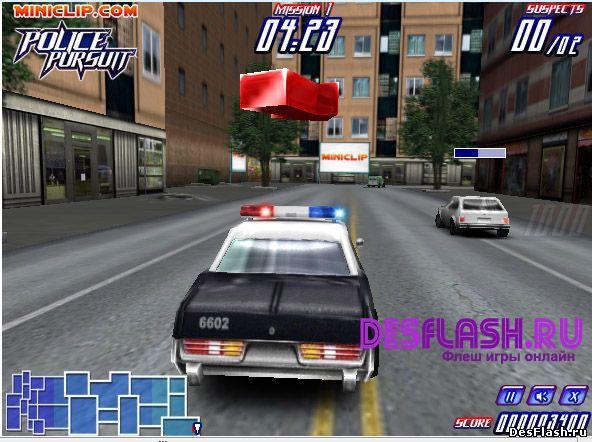 Police Pursuit. Полицейская погоня