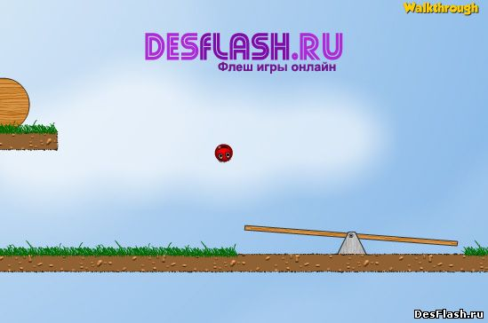 Red Ball Platformer 2. Красный мяч-платформер - 2