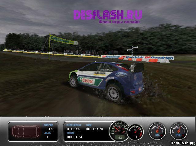 Чемпионат по ралли. Championship Rally