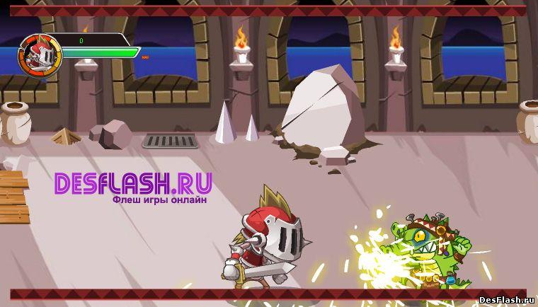 Флеш игра Гладиатор играть онлайн