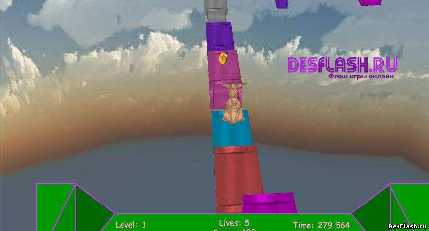 Игры с кенгуру онлайн: Kangourou Track