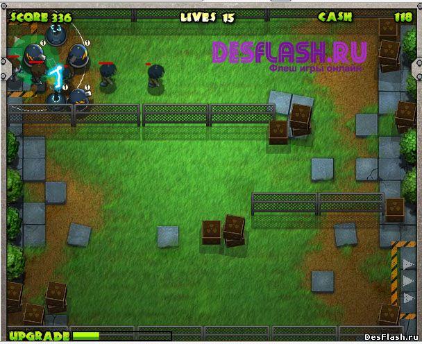 Zombie Defense. Защита от зомби